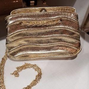 Small Gold Purse - Zara Woman